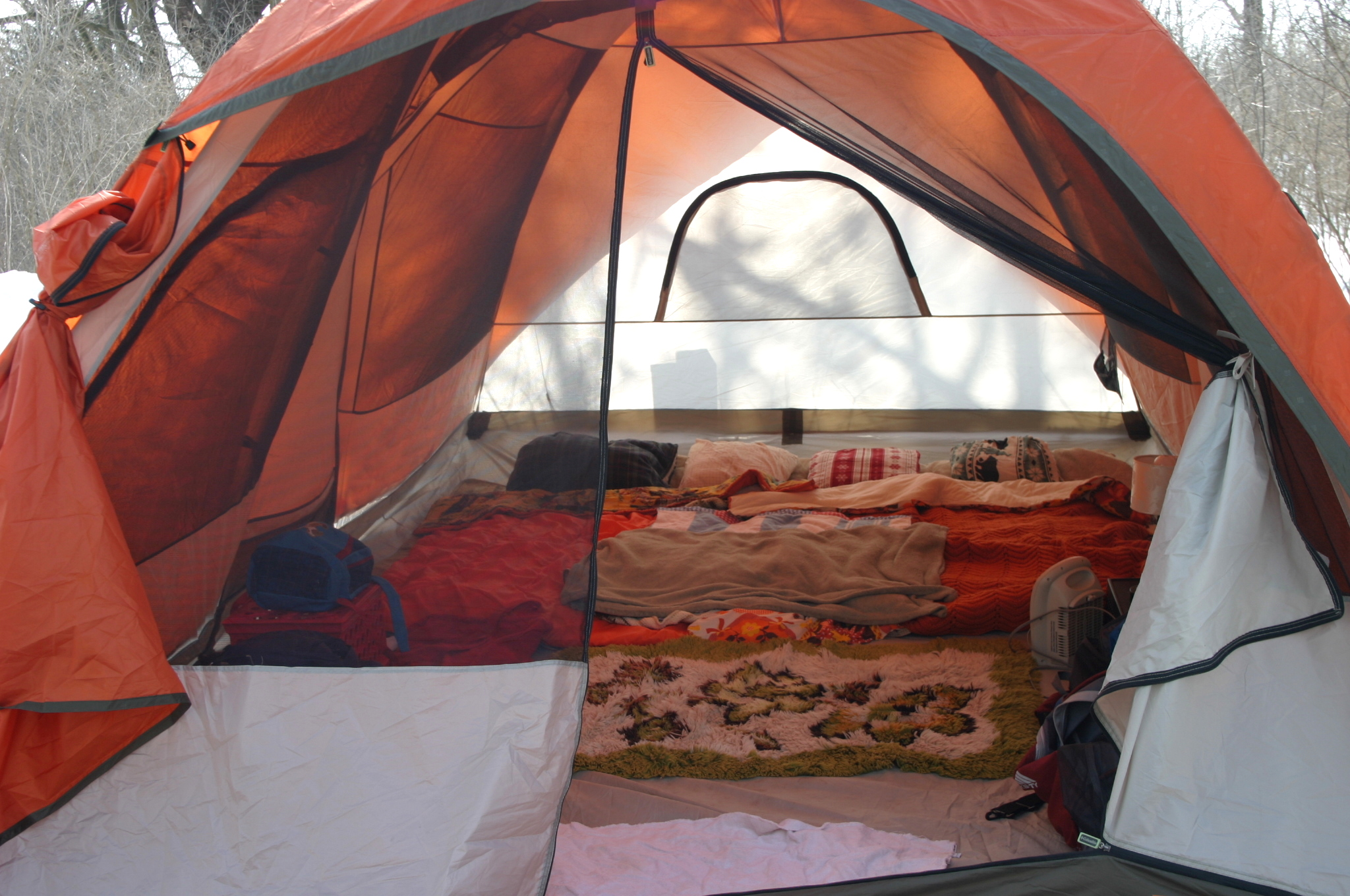 Family Camping Tents Inside